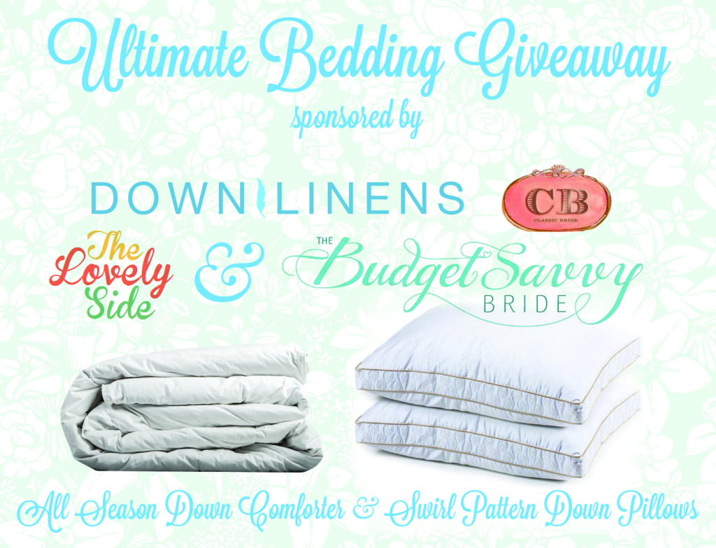 Ultimate bedding Giveaway