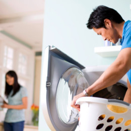 It Takes a Real Man to do the Laundry